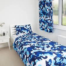 blue camo duvet set look again