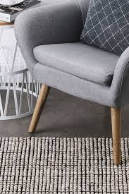 pave wool and jute rug