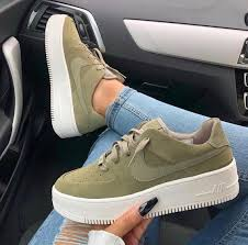 Nike Special Field Boot Size Chart Swarovski Nike Air Force 1 Sage Low Women Casual Sneakers