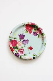 Pink Flower Paper Plates Purple Flower Paper Plates Zlatan Fontanacountryinn Com