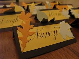 Fall Place Cards Place Card Wikipedia