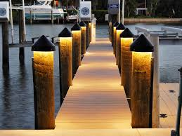 led dock light fixture for dock lighting