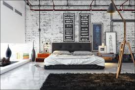 Industrial Manly Bedrooms