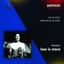 Metanoia is brilliantly pioneering the new filmmaking. metanoia represents a revolutionary development in documentary filmmaking…ideally, these films would be featured in. Metanoia Pres Less Is More Hypnotic Melodies January By Metanoia Radioshow