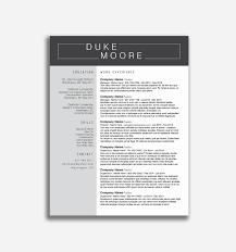 55 Visual Resume Templates Free Wwwauto Albuminfo