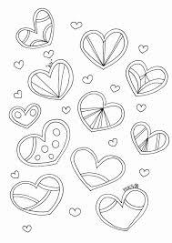 25 Bladeren Kleine Hartjes Kleurplaat Mandala Kleurplaat Voor Kinderen