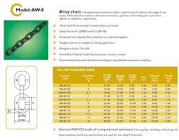 8mm Grade 80 Short Link Chain