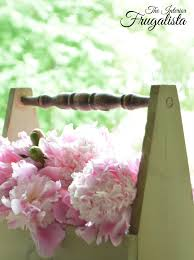 chair spindle used for handle on diy wooden caddy