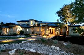 Custom Country Home Designs Custom Luxury Home Designs Front Elevation Hill Country