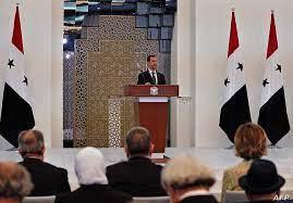 """بعد """"انتخابات صورية"""".. الأسد يؤدي اليمين لولاية رابعة في بلد مزقته الحرب"""