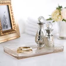 mercury glass bathroom accessories. Mercury Glass Vanity Bathroom Accessory Tray Accessories R