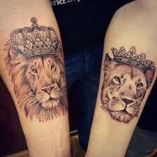 lioness with crown tattoo. Delighful With True Love And Tattoos Tend To Have A Lot In CommonTattoos Can Evoke  Beautiful Memories But Theyu0027re Also Pretty Painful So If Youu0027re Thinking Of Getting  In Lioness With Crown Tattoo