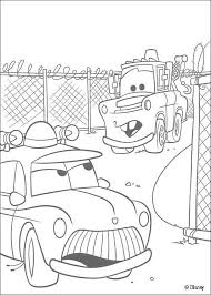 Small Picture Mater and a police car coloring pages Hellokidscom