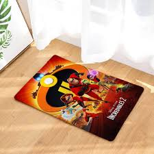 the incredibles 2 ultra soft indoor modern area rugs