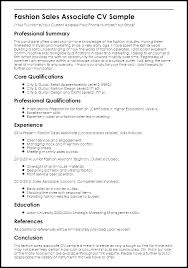 Objective For Sales Associate Resume Clothing Sales Associate Resume Objective Example Of Inventory
