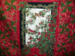 Acorn Ridge Quilting: Joyce's Christmas Panel Quilt & Joyce's Christmas Panel Quilt Adamdwight.com