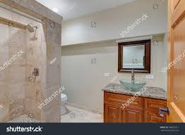 Light Beige Granite Countertop Luxury Mansion Interior Features Neutral Beige Stock Photo