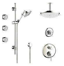 superb polished nickel shower rod to view larger image polished nickel curved shower curtain rod