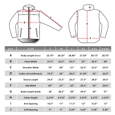 Fleece Jacket Size Chart Fleece Jacket Size Chart Jacket To