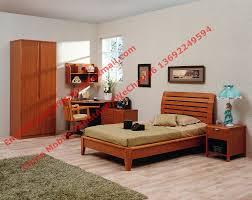 Solid Bedroom Furniture Single Bed Design Wooden Bedroom Furniture By Shenzhen Factory For