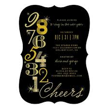 new years eve 2015 invitation.  Invitation New Yearu0027S Eve Countdown Glitter Holiday Party Invitation For Years 2015