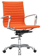 orange office furniture. eames style modern conference office chair orange furniture