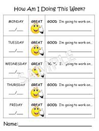Preschool Behavior Charts Worksheets Teaching Resources Tpt