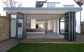 Glass walls: A house in Wandsworth's Broadgates Road, with a large family  kitchen room