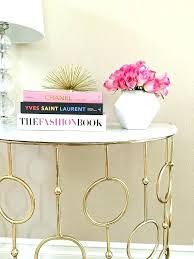 marble home accents gold home decor accents home decor gold accents marble console table stylish petite