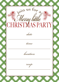 free printable christmas invitations templates free printable christmas party invitations templates free