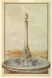Canopic Jar Designs File Drawing Design For Fountain With Canopic Jar 1790 Ch