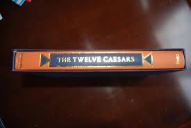 Twelve Caesars The Twelve Caesars By Suetonius Folio Society Edition 1992