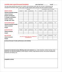 Quarterly Report Formats 32 Monthly Sales Report Templates Word Pdf Google Docs