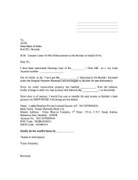 Sbi Home Loan Disbursement Letter Format Fill Online Printable
