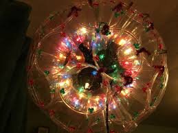 Christmas Lights Solo Cups Christmas Lights Homemade Disco Ball Dance Party Decor Gift Of Lights Worst Exchange Weird Hanging Light Of Plastic Cup Plastic Jewels