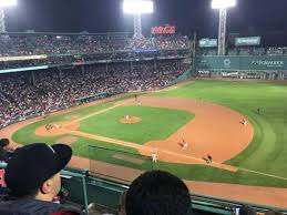 Red Sox Seating Chart Pavilion Box Fenway Park Section Pavilion Box 11 Home Of Boston Red Sox