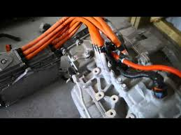 2013 chevy volt battery pack and drivetrain disassembly video