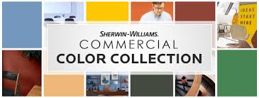 Sherwin Williams Industrial Color Chart Commercial Paint Color Collection Sherwin Williams