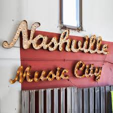 Nashville Sign Decor Nashville neighborhood spotlight on The Nations Ashley Claire 82