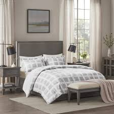 madison park mills 3 piece grey full
