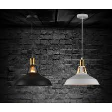 winsoon modern industrial loft bar metal pendant lamp shade hanging ceiling light all s