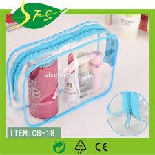 factory makeup artist clear pvc set bag removable shoulder strap tote make up kit bag pvc mini cosmetic bag clear pvc ping bags pvc clear plastic