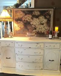 distressed antique furniture. white distressed buffet vintage antique by cdppaints furniture