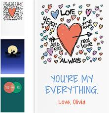 personalized romantic gifts lovebook covers