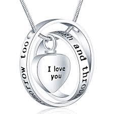 cremation jewelry keepsake memorial urn locket pendant necklace ashes new
