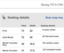 seatguru 787 9 cabin seats