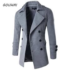 wool winter jacket for men autumn jackets and coats male brand clothing hombre mens brown