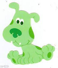 Blues Clues Green Puppy Plush 3 Blues Clues Green Puppy Plush K