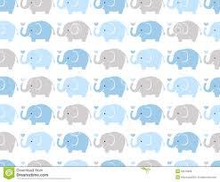 Elephant Pattern Unique Seamless Cute Elephant Pattern Illustration 48 Megapixl