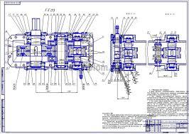 Дипломные работы технология машиностроения Повышение эффективности  1 Сборочный чертеж
